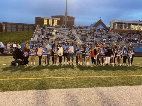 Cheer 2020 Senior Night