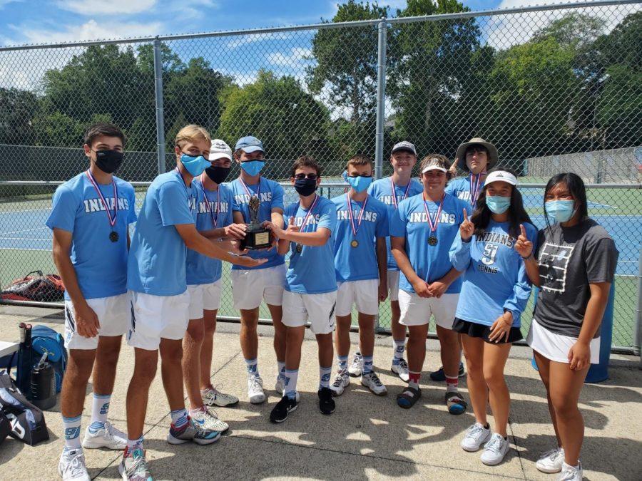Boys+Tennis+Continues+Winning+Streak
