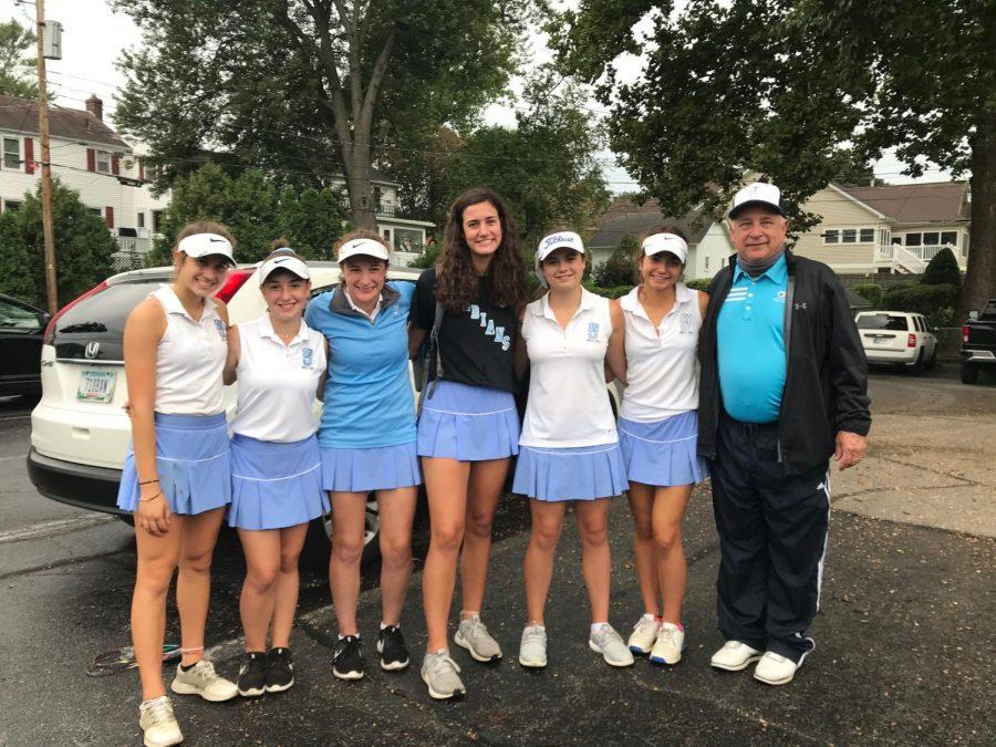 The+Girls+Golf+team+