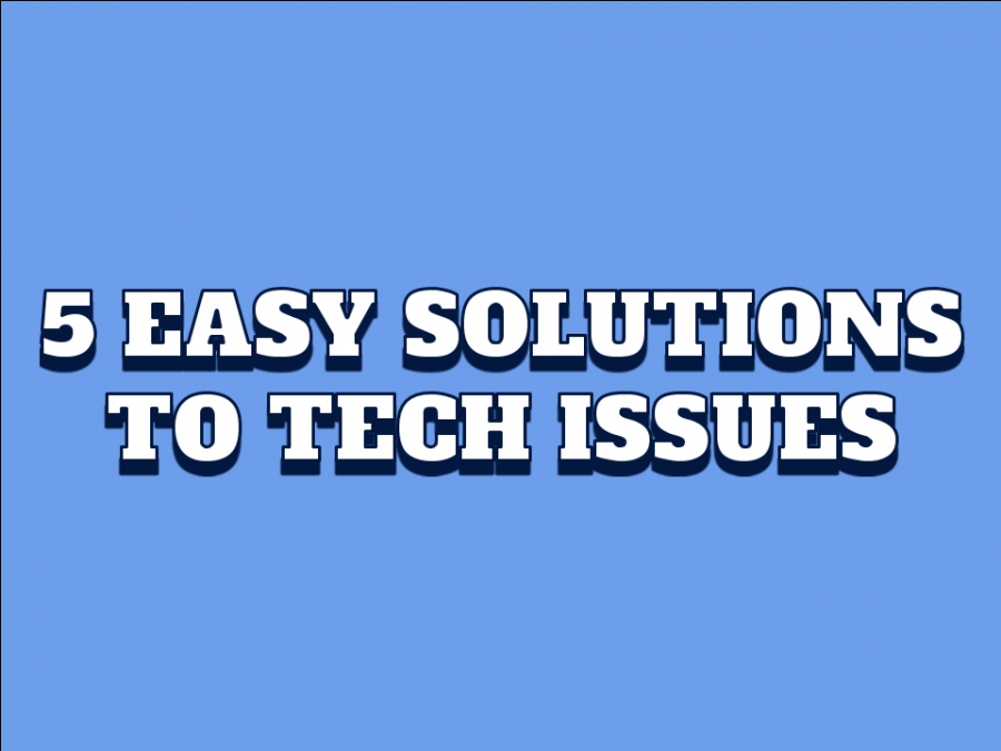5 Easy Solutions to Tech Problems