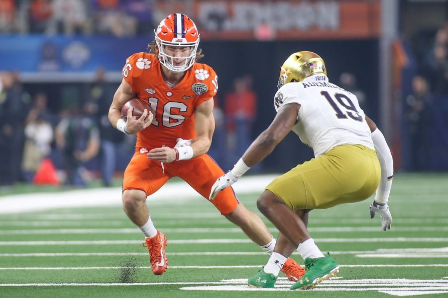 Notre+Dame-Clemson+Set+to+Clash