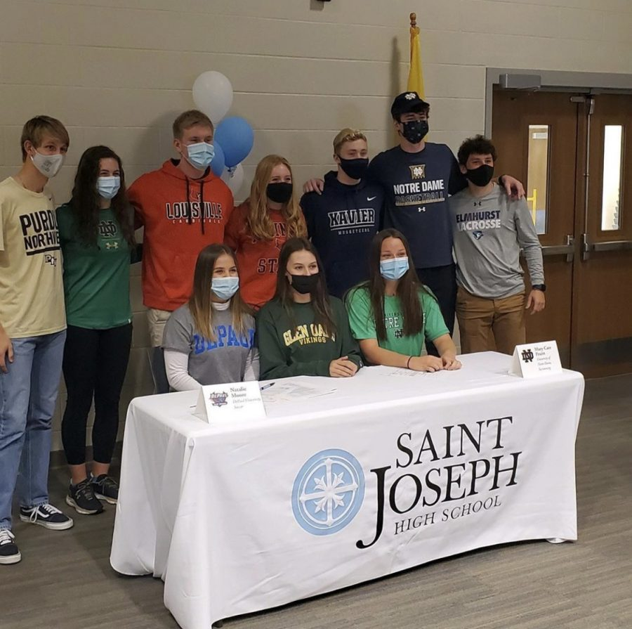 Three Saint Joe Signees Headed to Notre Dame