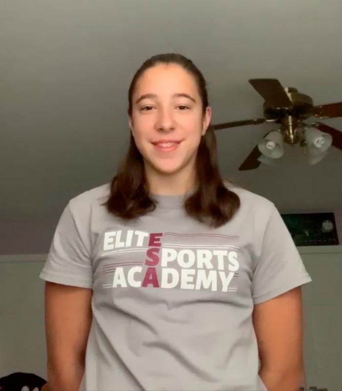 Kira Wilson, gymnast of the Elite Sport Academy