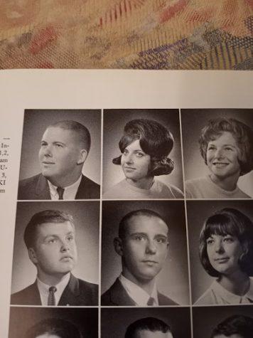 Margaret Kutrowatz senior year photo (top middle)