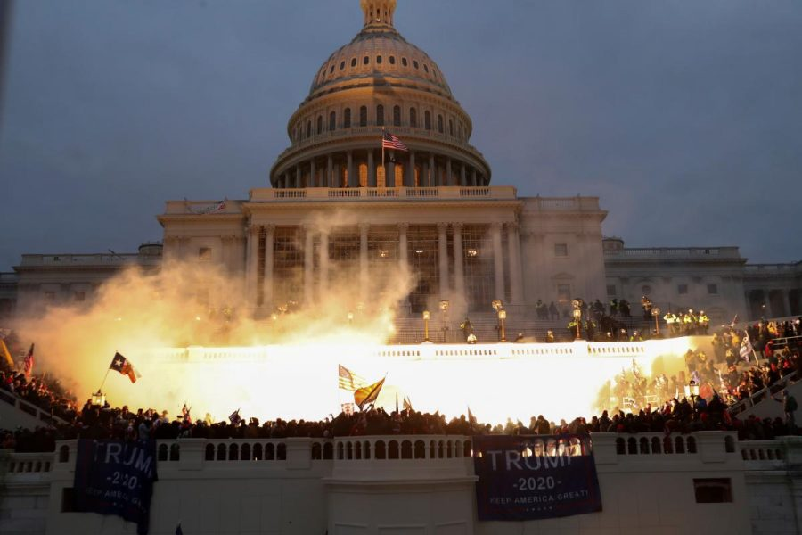 A mob of protesters storm the Capitol on the day Congress votes to certify the election.