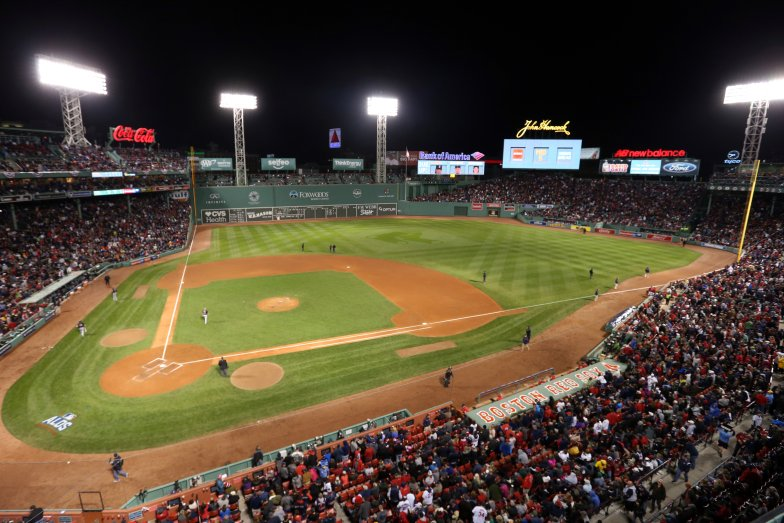 BOSTON%2C+MA+-+OCTOBER+10%3A++A+general+view+of+Fenway+Park+during+Game+3+of+ALDS+between+the+Cleveland+Indians+and+the+Boston+Red+Sox+at+Fenway+Park+on+Monday%2C+October+10%2C+2016+in+Boston%2C+Massachusetts.+%28Photo+by+Rob+Tringali%2FMLB+Photos+via+Getty+Images%29