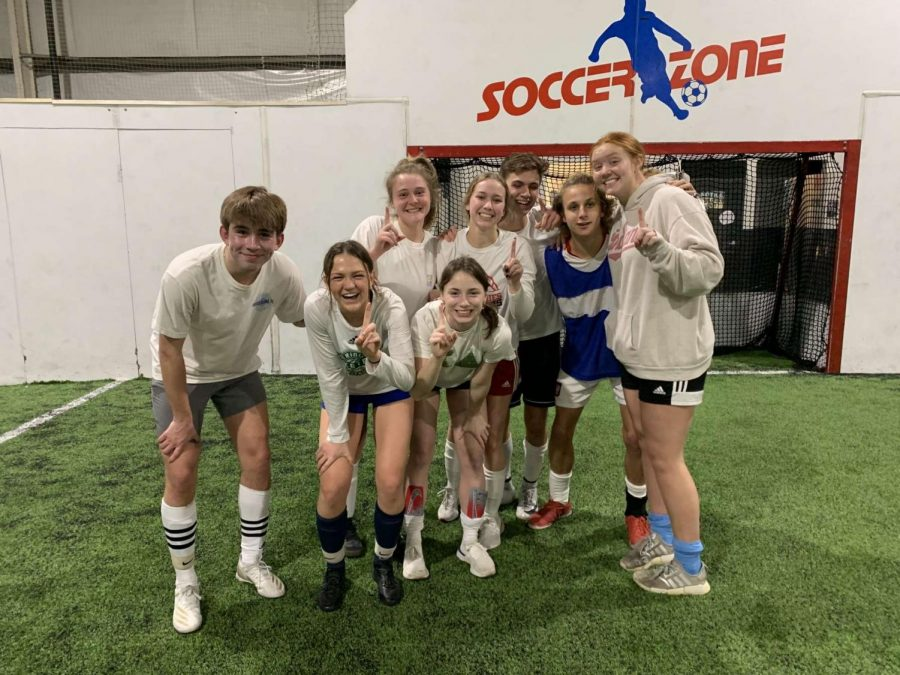 Saint Joe Indoor Soccer Team