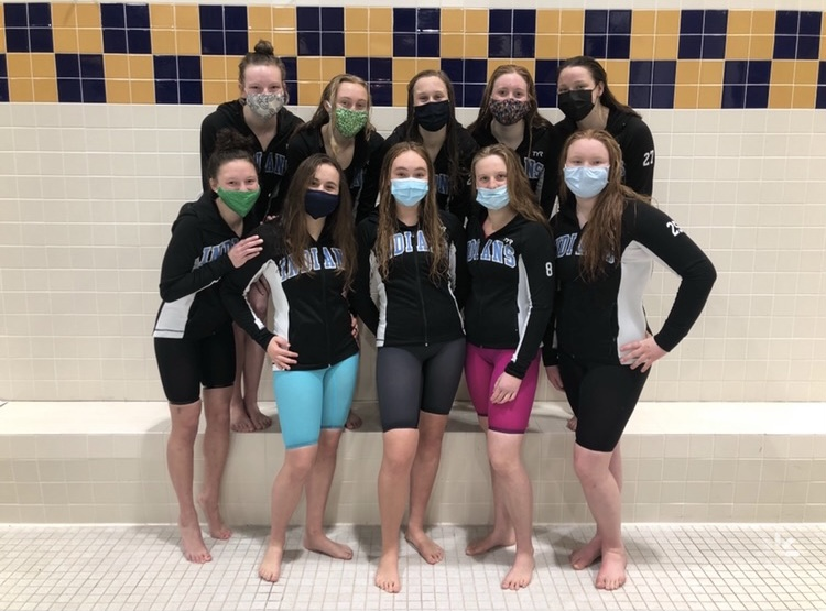 St. Joe Girl's Swimming and Diving Stand Out at Sectionals!