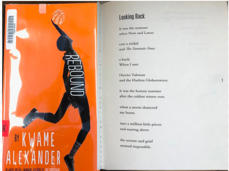 First Page Friday: Rebound by Kwame Alexander