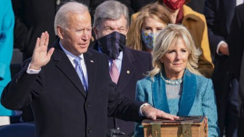 Joseph R. Biden Jr. sworn in as the 46th President of the United States on the West Front of the United States Capitol.