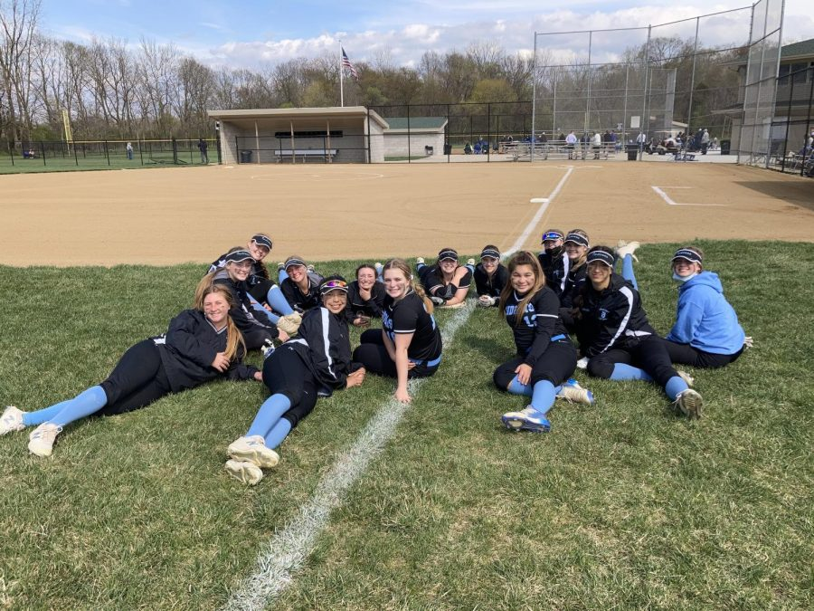 Girls Softball Participates in a Double Header