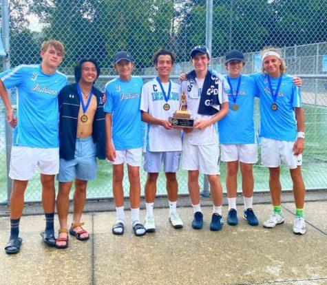 St Joe Tennis Wins NIC Tournament