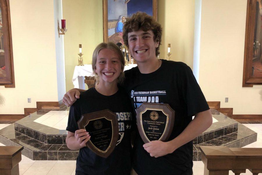 St. Joseph High Community Award Spotlight: Audra Meyer and Jack Quinn